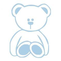 Urso Ted Azul