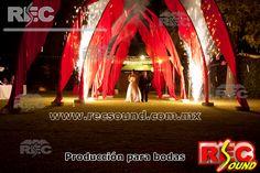 Producción para bodas www.recsound.com.mx
