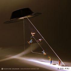 UFO - Miniature Calendar