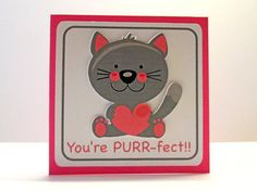 Cat Valentines Day Mini Cards classroom by DreamsByTheRiver