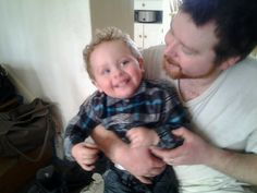 Brandon with daddy