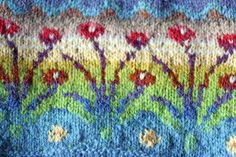 Stranded Knitting Motifs by Peony and Parakeet