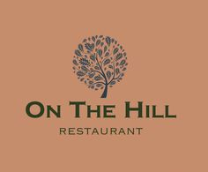 Corporate identity, menu design, signage - the whole package for On the Hill, Ruthin. White Fox, Fox Design, Menu Design, Corporate Identity, Signage, Editorial, Menu Layout, Brand Identity