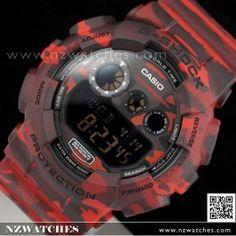 Buy Casio G-SHOCK Military Camouflage Sport Watch GD-120CM-4, GD120CM- Buy Watches Online   Casio NZ Watches
