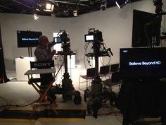 Bob Camitta sets up a PDW-700 in Sony's Park Ridge, NJ studio.
