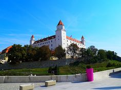 Bratislava Castle in Bratislava, Slovakia | Sygic Travel / Bratislava Castle is the main castle of Bratislava, the capital of Slovakia. The massive rectangular building with four corner towers stands on an isolated rocky hill of the Little Carpathians directly above the Danube river in the middle of Bratislava. Because of its size and location, it has been a dominant feature of the city for centuries.