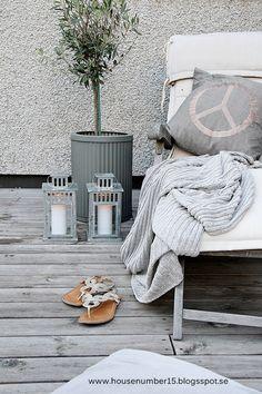 Las terrazas también son para el otoño | La Garbatella: blog de decoración de estilo nórdico, DIY, diseño y cosas bonitas.