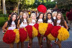 University Of Los Angeles, Fresno State, University Of Southern California, Cheerleading, Girls, People, Photography, Little Girls, Photograph
