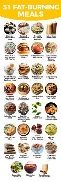 31 fat-burning meals