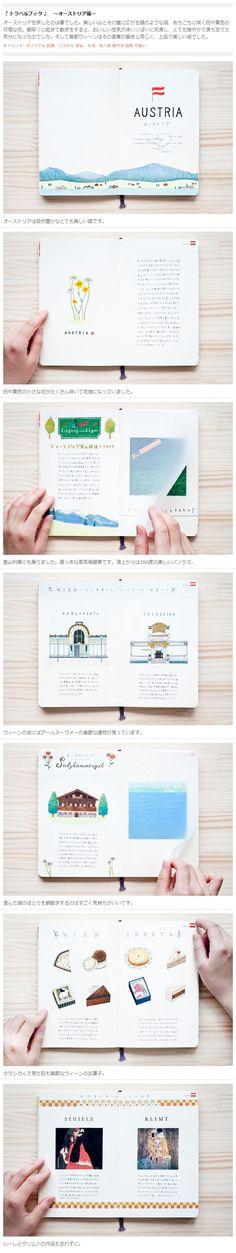 "Kondo Yoshie (近藤圭恵) - travel book "" Austria "" 『 トラベルブック 』 〜オーストリア編〜 http://www.tis-home.com/kondo-yoshie/works/24"
