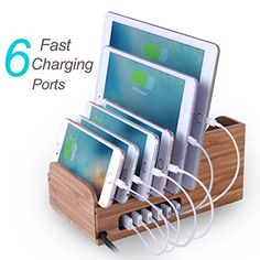 Lottogo Charging Station 6-Port Desktop USB Charger (incl... https://www.amazon.com/dp/B01I9LS2KG/ref=cm_sw_r_pi_dp_x_pGlTxbE1RYC3N