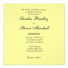 See MoreSimply Yellow Wedding Invitationlowest price for you. In addition you can compare price with another store and read helpful reviews. Buy