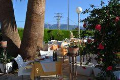 Nuestra terraza maravillosa, para comer al aire libre. Todo un lujo!!!