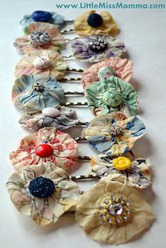 DIY bobby pins The Party Goddess! Marley Majcher ThePartyGoddess.com #style #fashion #bobbypins