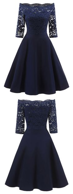 Perfect for any occasion. You will look like a princess in this black lace dress.