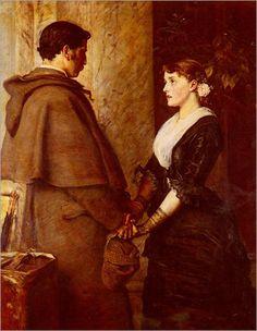 John Everett Millais Dante Gabriel Rossetti, John Everett Millais, Pre Raphaelite Brotherhood, Edward Burne Jones, Art Ancien, John William Waterhouse, Art Database, Victorian Art, Boyfriends