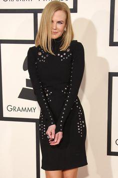 Nicole Kidman In Mugler At The Grammys 2015