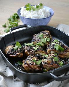 Hella & houkutus: Soija-hunajabroileri kookosriisillä Fish Recipes, Meat Recipes, Fish And Chicken, Beef, Dishes, Cooking, Food, Meat, Kitchen