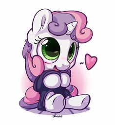 Sweetie Belle being f***ing adorable! Cute Animal Drawings, Cartoon Drawings, Hello Kitty Drawing, My Little Pony Stickers, Cute Rainbow Unicorn, My Little Pony Rarity, Baby Pony, Sweetie Belle, Unicorn Pictures