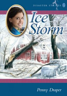 Ice Storm by Penny Draper.  Two different girls have to find the strength within themselves to survive their drastic situations. Penny Draper takes readers into the lives and hearts of two very real characters at the same time as she takes them into a very real disaster from the recent past.