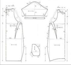 Sewing Paterns, Dress Sewing Patterns, Clothing Patterns, Sewing Pants, Sewing Clothes, Dress Tutorials, Sewing Tutorials, Cocoon Dress, How To Make Clothes