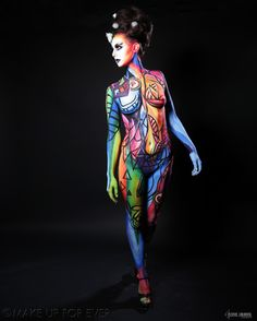 Body Painting Academy Final 2011/12 by Ha Young C