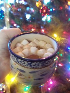 Hot Cocoa made in crockpot.