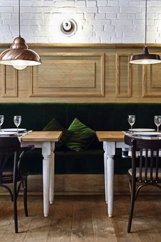 Althaus - A Brave New Bavarian Restaurant in Poland by Izabella Simmons #restaurant #interior #design