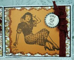 Love To Scrap!: Vintage Girl Note Cards