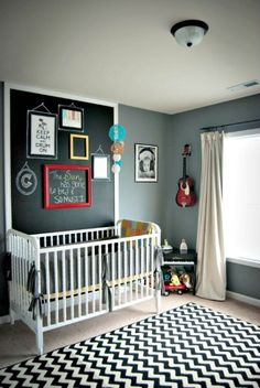Nursery Decor/Art - Chalkboard Wall