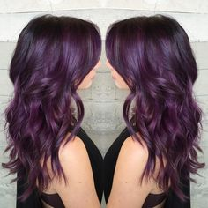 """Purple... the Gateway Drug Color... By Butterfly Loft stylist Alexis @alexisbutterflyloft"""