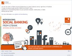 15 Best Facebook Banking images in 2012 | Product launch