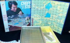 Rare Vintage 1976 Milton Bradley Chopper Strike 3 D Board Game 100% Complete #MiltonBradley