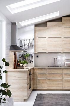 Total look bois pour une cuisine dans l'air du temps