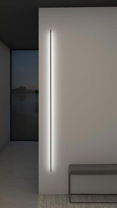 Exterior light fixtures - ThinLine Indirect Wall Light by SONNEMAN A Way of Light 2814 163 – Exterior light fixtures Hallway Lighting, Accent Lighting, Living Room Lighting, High Ceiling Lighting, Home Interior, Interior Design Living Room, Blitz Design, Japanese Interior Design, Contemporary Interior