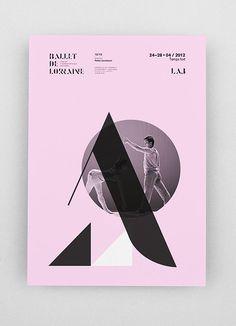 CCN Ballet de Lorraine - Identité - Les Graphiquants #identity #graphicsdesign #typography