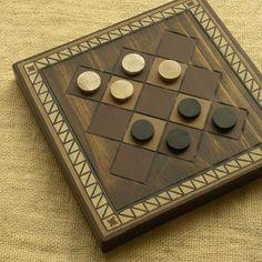 ANCIENT BOARD GAME  Woodwork  Art  Handmade  Decoration  by kurna, $79.00