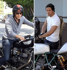Celebs Who Will Rev Your Engine: Hot Hollywood Guys Who Ride Motorcycles