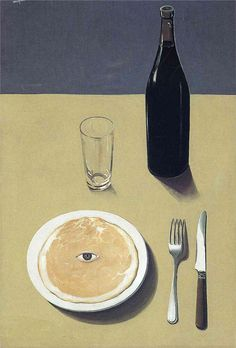 magritte ~ the soup is watching you