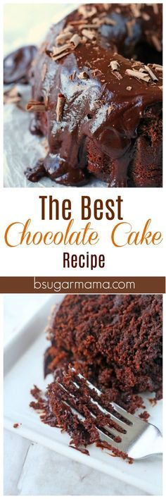 This is the Best Chocolate Cake Recipe that you will ever make. This cake recipe has a secret ingredient that you won't believe!!!!! Try this chocolate cake recipe today!