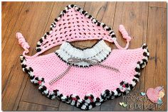Ravelry: The Miss Dolly Skirt & Kerchief Set pattern by The Hooked Haberdasher