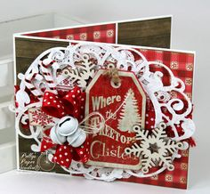 Where the Treetops Glisten Christmas Greeting Card 6