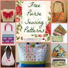 20 Free Purse Sewing Patterns | AllFreeSewing.com
