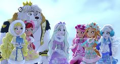 Blondie, Rosabella, Daring, Crystal, Briar, Ashlynn & Faybelle