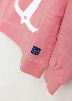Anchor Sweatshirt - Coral / Emma & Malena - Söt by Sweden Tween, Anchor, Coral, Sweatpants, Sweatshirts, Fashion, Moda, La Mode, Sweat Pants