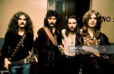 Geezer Butler, Tony Iommi, Bill Ward and Ozzy Osbourne