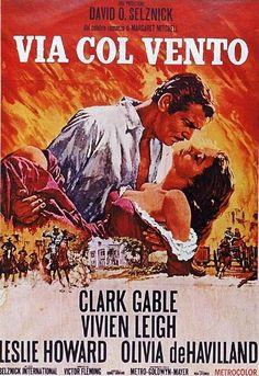 Titolo originale: Gone with the wind Durata:222' Anno:1939 Produzione:USA Regia: Victor Fleming Cast: Clark Gable, Vivien Leigh, Olivia De Havilland, Hattie McDaniel