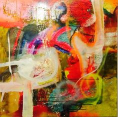 "Saatchi Art Artist Mats Andersson; Painting, ""Late night party - SOLD"" #art"