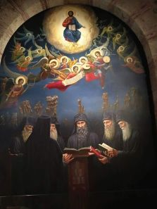 Όλοι οι Άγιοι στον Παράδεισο θα λένε «Κύριε ελεησόν» για εσένα | Σημεία Καιρών Christus Pantokrator, Church Icon, Russian Painting, Jesus Art, Byzantine Icons, Church Architecture, Jesus Pictures, Orthodox Icons, Sacred Art