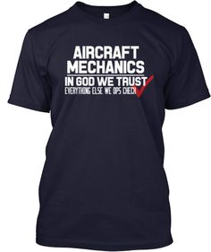 Awesome Aircraft Mechanics Shirt